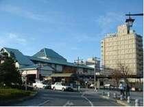 JR磐田駅南口から見た、くれたけインいわた外観