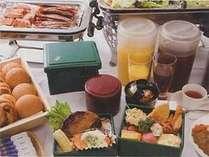 団体合宿スポーツパック夕食Aプランはお弁当+カフェテリア方式で♪