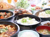 朝は和食派!の方にも充実のメニューをご用意しております!