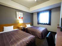 【ツインルーム】お部屋が広くご夫婦やカップルにオススメのお部屋です!