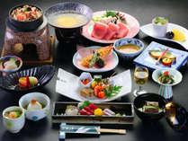 【料理一例】夕食は大好評の創作和会席となっております。