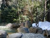[写真]露天岩風呂