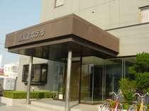 佐原北ホテル玄関