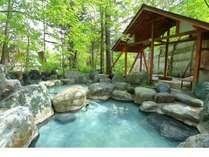 露天風呂の一つです。