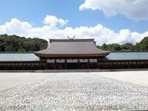 初詣でも毎年約90万人が参拝される日本の初代天皇・神武天皇と皇后を御祭神とする「橿原神宮」