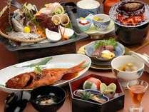 【磯会席】鮑踊り焼き・伊勢海老刺身・金目鯛煮付け 三大グルメを全部食べたい人のプラン
