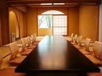 日本料理「竹翠」のお座敷。最大収容人数は20名。