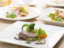 テラスレストラン「ベラヴィスタ」自慢の加賀創作イタリアンをご堪能ください。