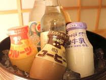 夏季限定ドリンク販売♪お風呂上りに生ビールもご用意しております。