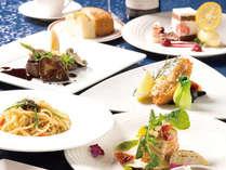 テラスレストラン「ベラヴィスタ」自慢の加賀創作イタリアンをご堪能ください
