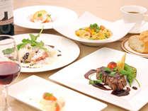 テラスレストラン「ベラヴィスタ」イタリアンコース