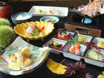 【日本料理「竹翠」】秋の食材を使用した和食会席