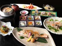 日本料理「竹翠」のどぐろ会席。たっぷりのった脂と柔らかい身を、贅沢にお楽しみいただけます。