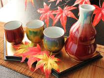 秋冬のお食事にピッタリの地酒もご用意しております