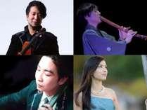 【リゾートコンサート】8/28(日)開催!幅広いジャンルの演奏家が集結♪美しい音楽にあふれる1日