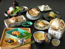 のどぐろやズワイ蟹などの贅沢食材を使用した、石川いいとこ取り会席!