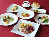 加賀の旬食材を使用した、イタリアンフルコース。