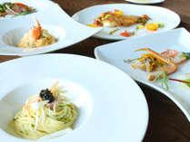 【蟹イタリアン】グレードアップ蟹フルコース!石川県産食材とともにアローレイタリアンで贅沢に食す。