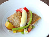 魚介を味わうイタリアン!石川県内漁港で水揚げされた鮮魚のドラート 加賀九谷野菜とともに(イメージ)