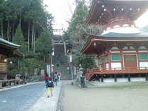 世界遺産自尊院と丹生官省符神社