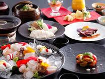 【ポイント10%】旬のスペシャリテ 四季薫る旬の味覚や淡路牛など島が誇る逸品を贅沢にちりばめた特選料理