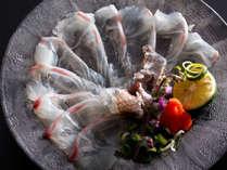 鳴門の潮に揉まれ身が締まった天然真鯛づくしに淡路牛のステーキも愉しめる特選味覚コース≪料理イメージ≫