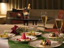 特別な夜はお部屋でディナーを♪クリスマスディナー(ルームサービス)