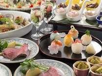 【1泊2食】大人気!ローストビーフ&手まり寿司☆Wi-Fi無料■フロントは16階■