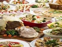 【1泊2食】春づくしのおもてなしブッフェ&牛ロースステーキ・ホタルイカと山菜天ぷら■フロント16階