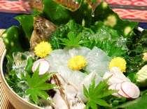 観光、リゾート、多目的に!海鮮料理レギュラープラン・特典・夕食部屋食