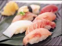 握りたての新鮮握り寿司!2Fレストラン多七でお召し上がりいただけます