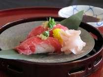 【近江牛祭り】*近江牛とろ寿司*近江牛本来の旨味と柔らかさを十分に堪能できます♪