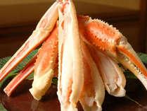 蟹プラン一例。一人一肩は食べ応えあり!甘みのある身をご堪能下さい♪(一例)