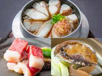 【竹プラン】法悦定番にもう一品の贅沢!真鯛の釜飯・ステーキ・鮑からお選びください!