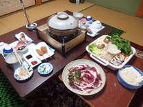 ★☆奈良県専用 ふるさと割☆★ 大谷屋秘伝の味噌タレ使用 ボタン鍋&3大特典付きプラン