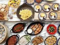 洋食・中華の朝食ビュッフェ(レストランPANWOK)