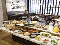 洋食・中華のバイキング朝食(レストランPANWOK)