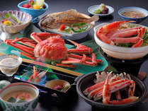 【松石庵おトク♪】お国自慢!かにづくし★ゆでずわい蟹1杯+焼きガニ・カニすき鍋・蟹雑炊! お部屋食!