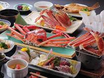 【ほくほく焼きガニ】のんびりお部屋食♪茹で蟹×焼きがに×蟹鍋★【極上蟹づくし】