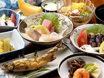 【2食付】自家製食材を使った料理と天然温泉を愉しむ