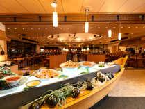 ◆メインダイニング天河/新鮮な魚介類をお刺身で思う存分
