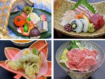 2013秋の季節会席♪前菜・お造り・揚げ物・すき焼き
