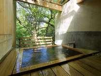 源泉掛け流しの貸切温泉を楽しむ「土湯別邸 里の湯」1泊2食付きスタンダードプラン