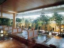 ■大浴場「悠幻の湯殿」露天仕切り湯