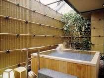 ■白雲南館 温泉露天風呂付洋室(檜風呂タイプ)(洗い場あり)、トイレ付
