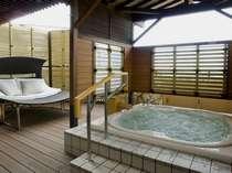 ■天祥の館 温泉露天風呂付スイート客室(366号室)[イメージ]](洗い場なし)、バス・トイレ付