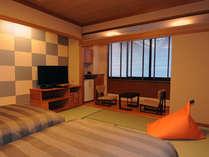 ■白雲本館 ベッド付客室(和室10畳/アウトバス/禁煙)、トイレ付