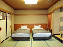 ■白雲本館 ベッド付客室(和室10畳/アウトバス/禁煙)
