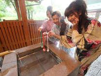 ■無料!湯上がりサービス 温泉たまご手作り体験