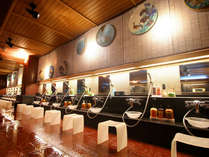 ■大浴場「九谷の湯処」洗場